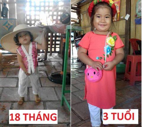 Thuy Trang(bé Mai Anh cũ)