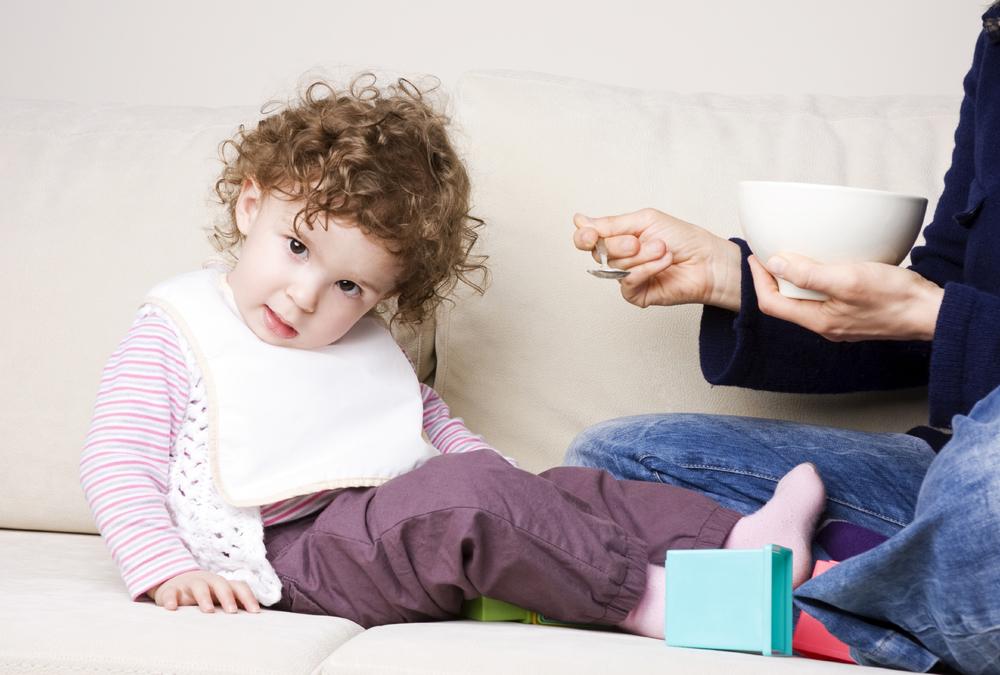trẻ chậm tăng cân biếng ăn