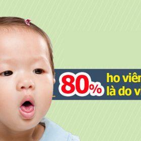 trẻ ho viêm họng 1